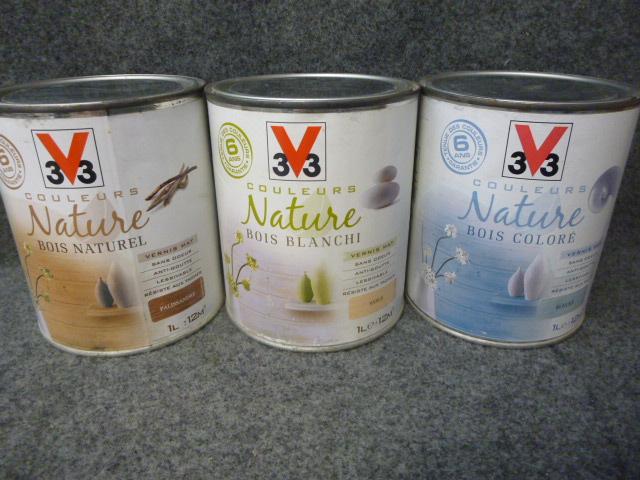 Vernis Couleurs Nature BOIS COLORE V33 V33  GPEINT  ~ Vernis Bois Couleur