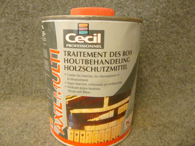traitement des bois axil multi c cil 1 l cecil g 39 peint destockage de peinture. Black Bedroom Furniture Sets. Home Design Ideas