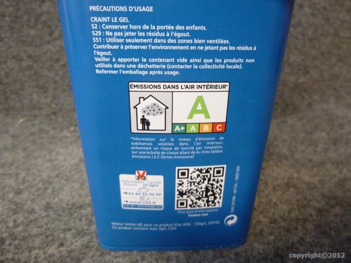 Hydroactiv 39 barri re tanche v33 750ml v33 g 39 peint - Peinture hydroactiv v33 ...