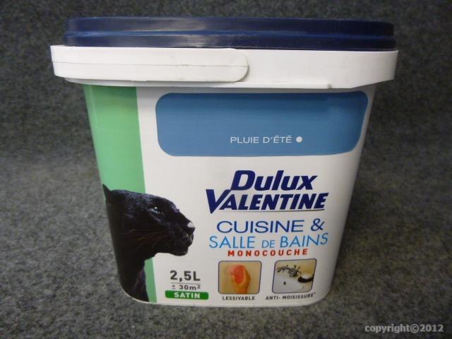 Peinture monocouche cuisine salle de bains dulux - Peinture salle de bain dulux valentine ...