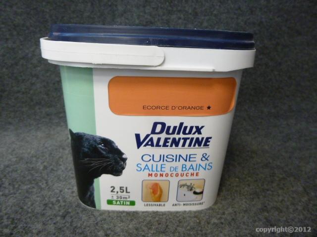Peinture monocouche cuisine salle de bains dulux for Dulux valentine salle de bain