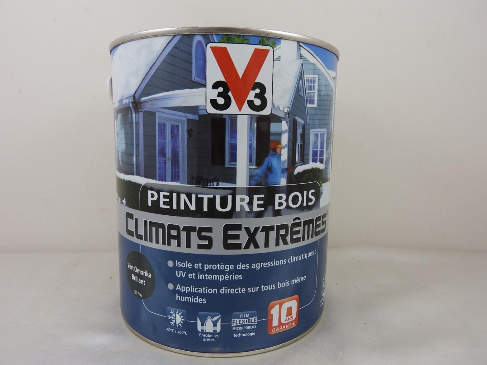 Peinture Bois Climats Extrêmes V33 Brillant 2 5 L V33