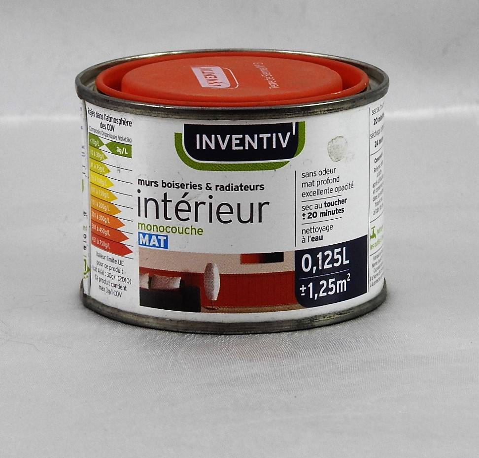 peinture monocouche murs boiseries et radiateurs mat inventiv 39 inventiv 39 inventiv mat. Black Bedroom Furniture Sets. Home Design Ideas