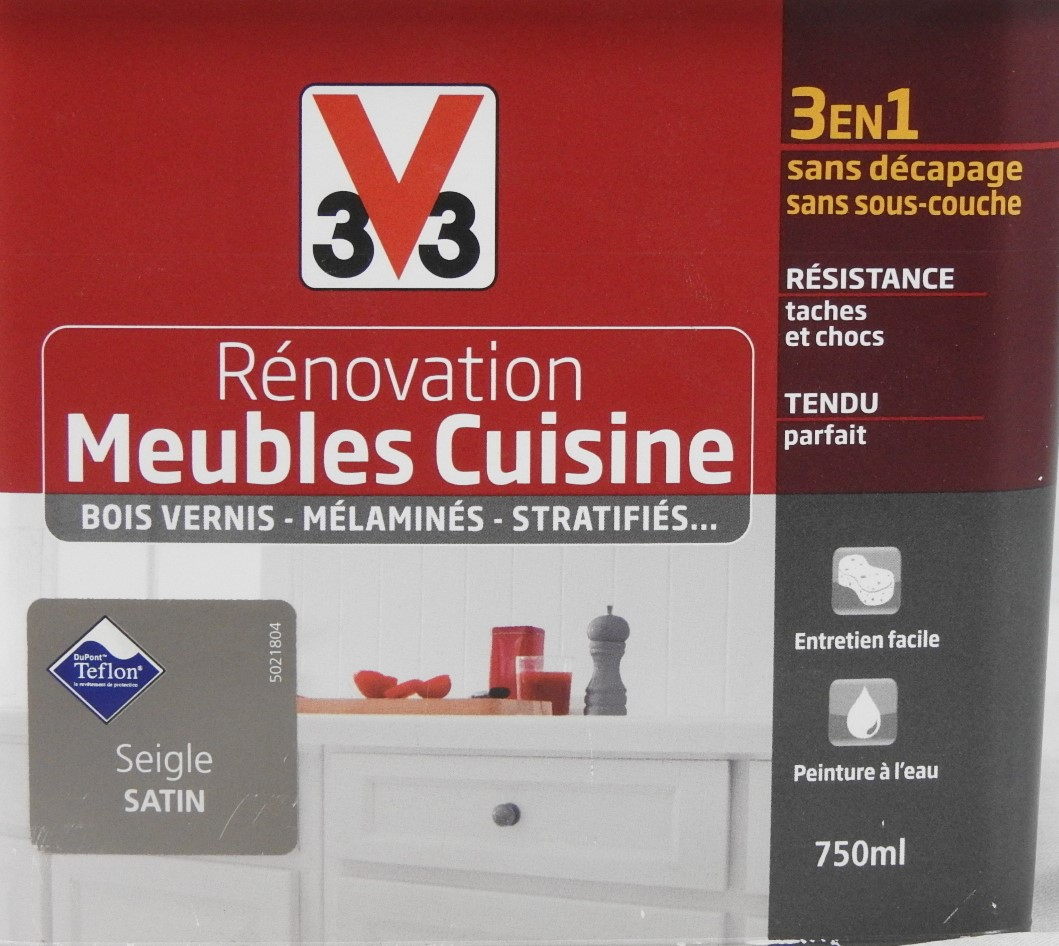 Great Peinture Meuble Cuisine V33 Images Gallery