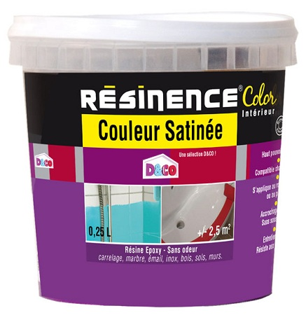 R sine epoxy couleur satin e r sinence l resinence g 39 peint destockage de peinture lasure for Catalogue couleur peinture satinee