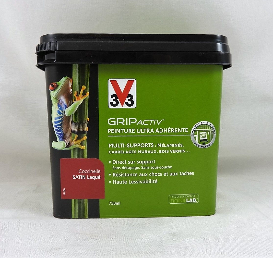 Peinture multi supports grip activ 39 v33 v33 grip for Peinture peinture