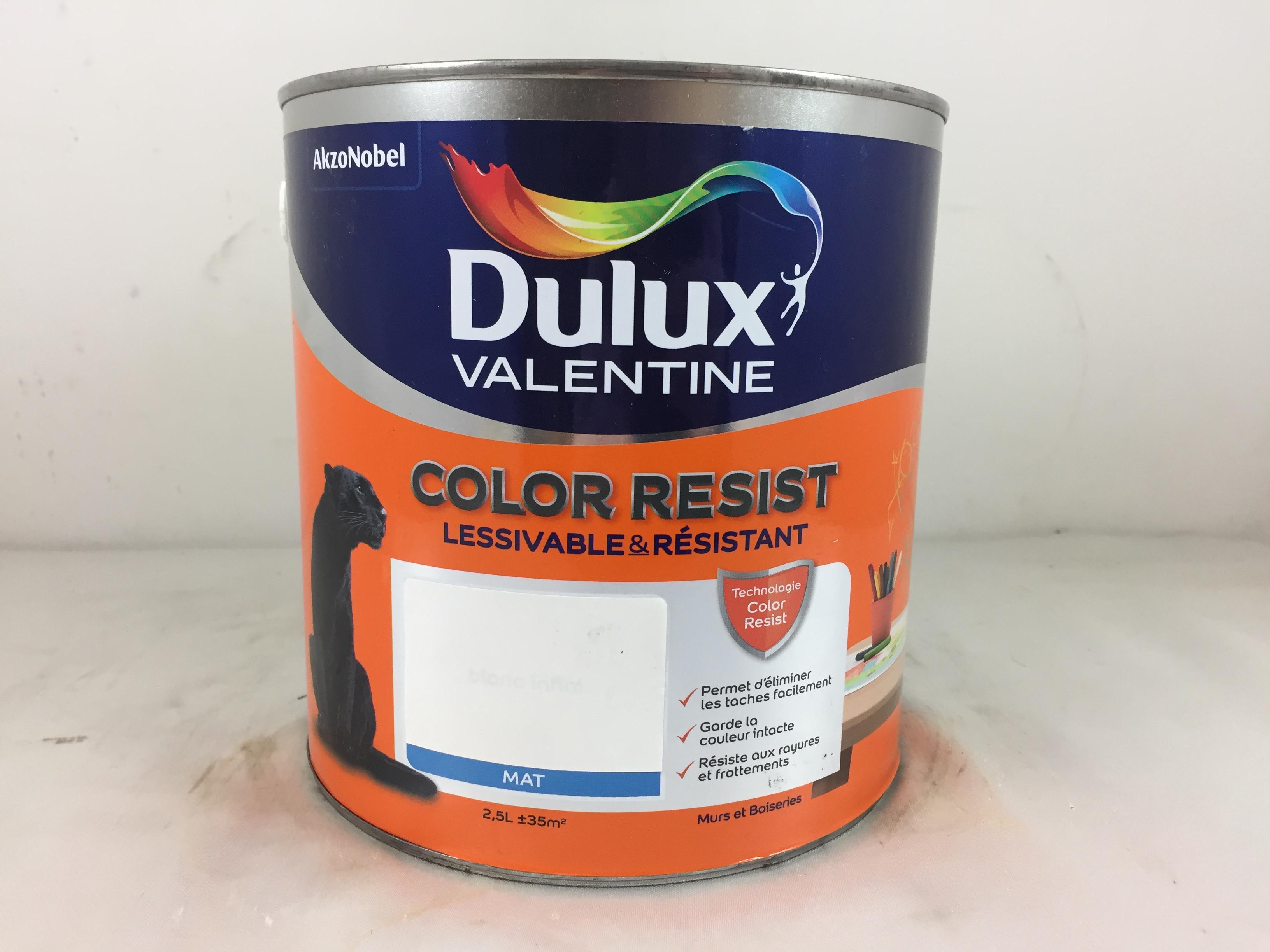 Peinture Blanche Dulux Valentine boutique de peinture discount en ligne gpeint - nîmes
