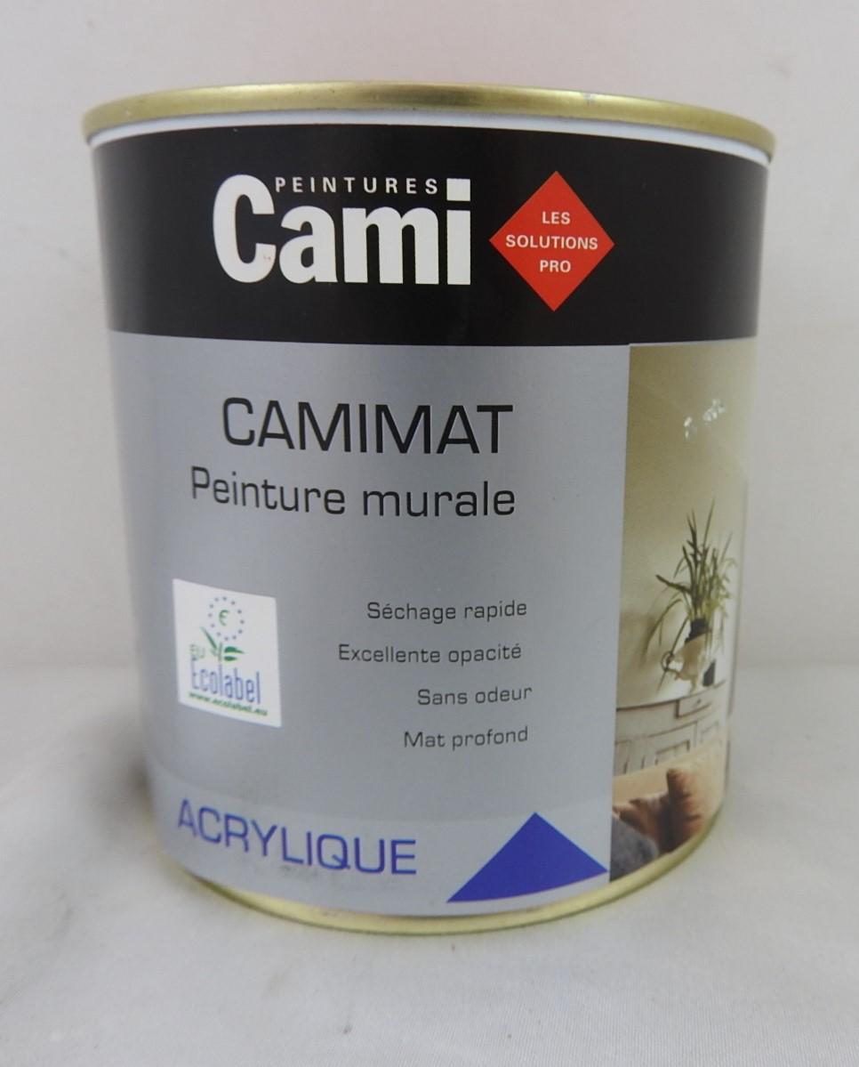 Peinture Acrylique Murs Et Boiseries Camimat 0 5l Rouge Base Cami 3341300254296 Large Selection De Peinture Accessoire Au Meilleur Prix