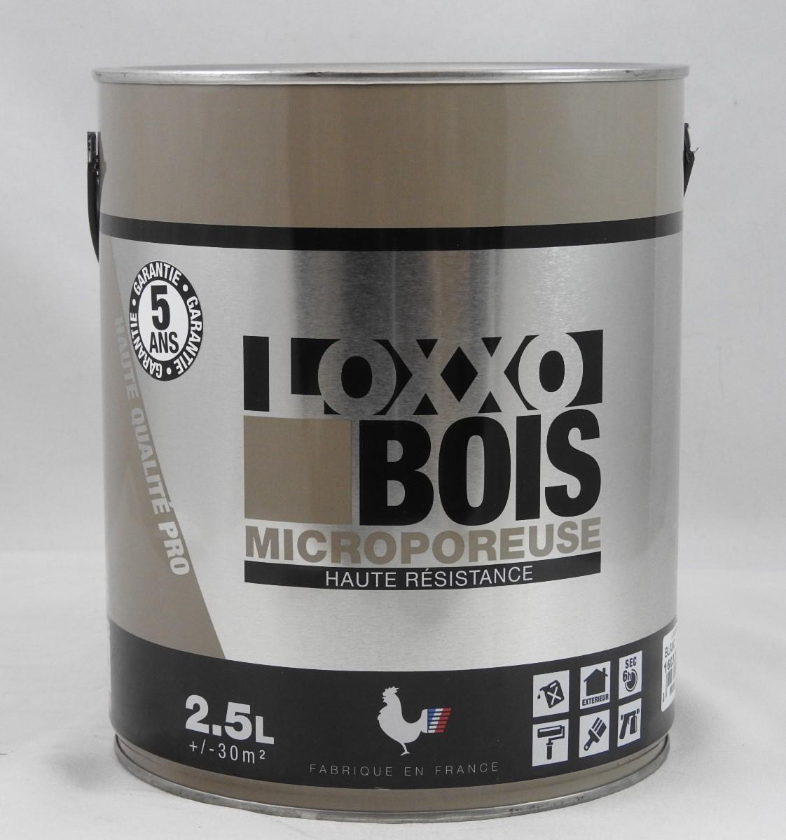 peinture microporeuse sp cial bois loxxo 2 5l innova loxxo bois 2 5l g 39 peint destockage de. Black Bedroom Furniture Sets. Home Design Ideas
