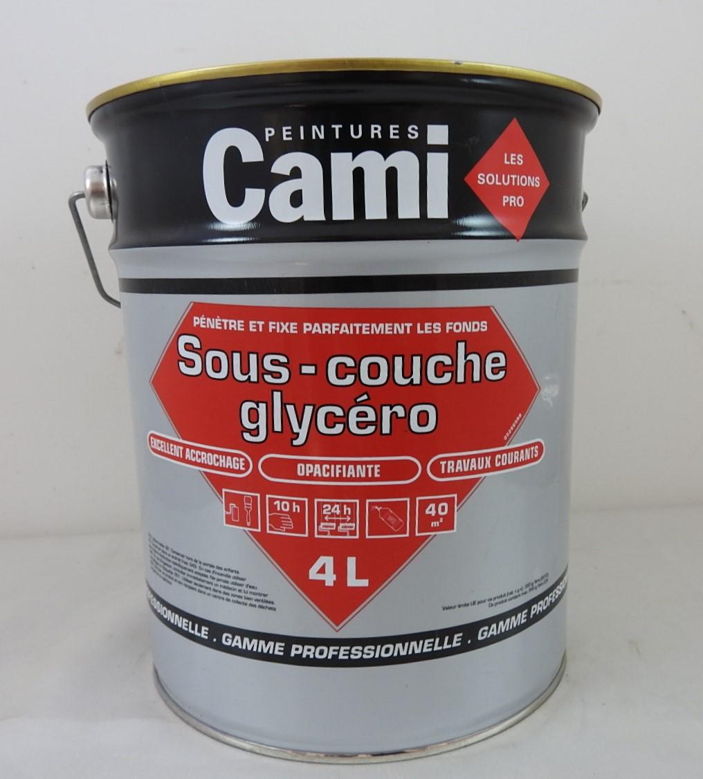 Sous couche universelle glycero cami 4l oxi ss couche glyc cami 4l peinture lasure vernis pas - Sous couche sur peinture glycero ...