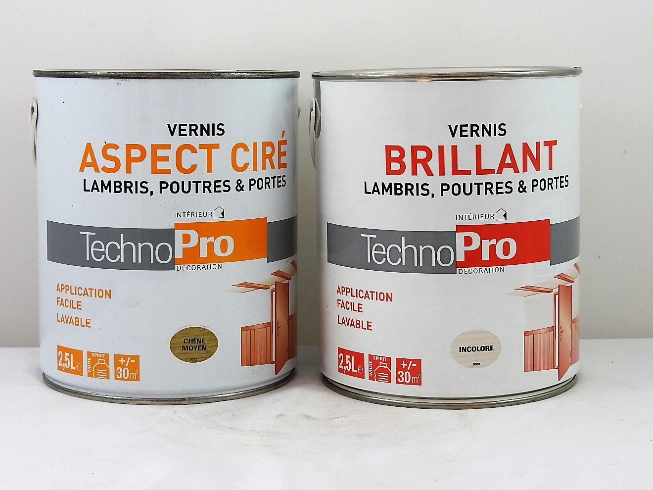 vernis lambris poutres portes technopro 2 5l technopro vernis technopro 2 5l g 39 peint. Black Bedroom Furniture Sets. Home Design Ideas